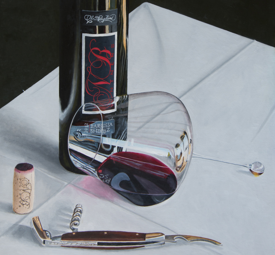 wine art by Australian Rob Kennedy